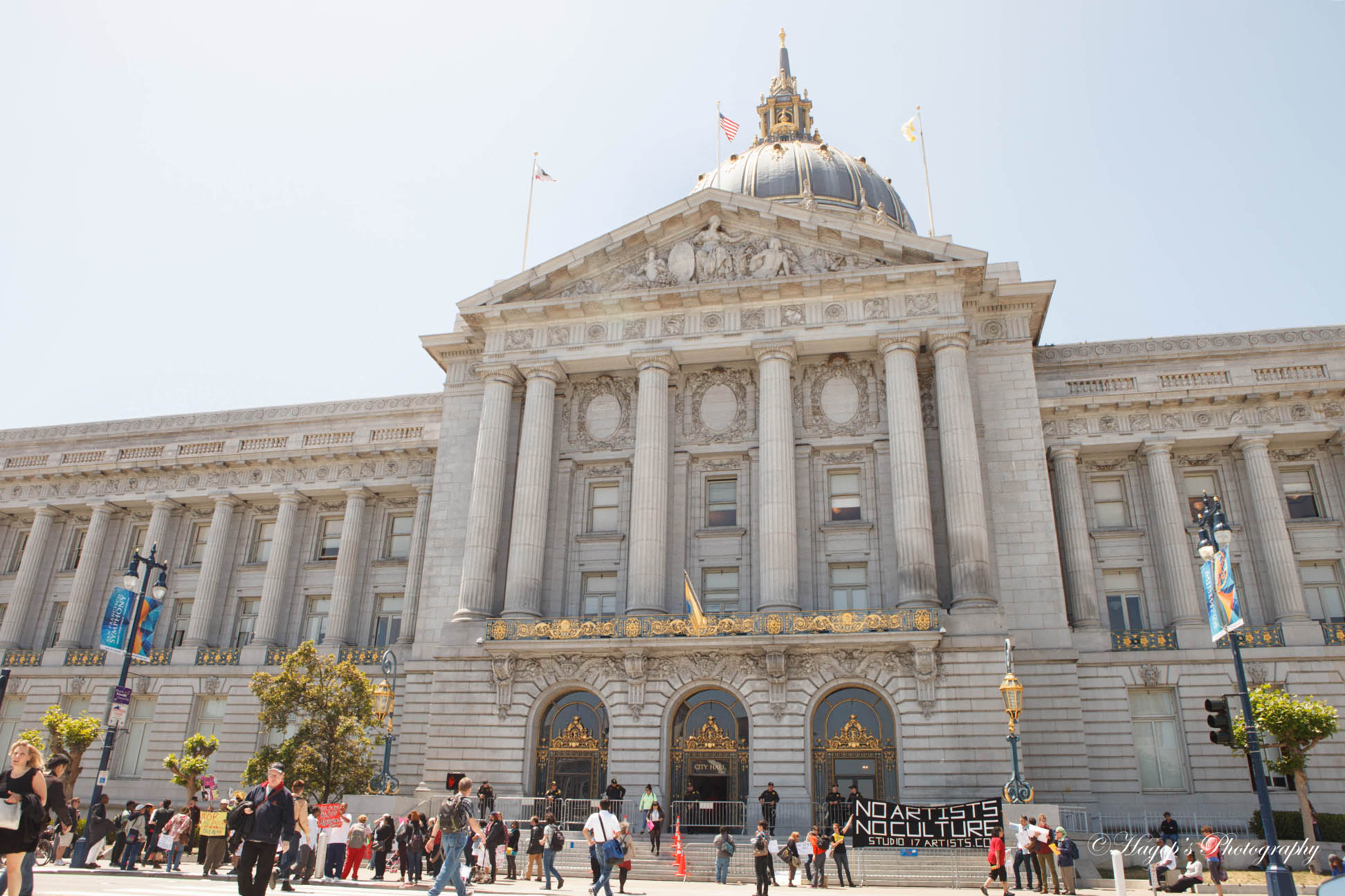 san francisco city hall building