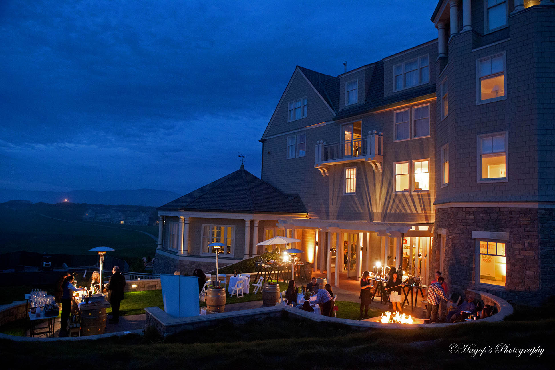 corporate event at the ritz carlton in half moon bay