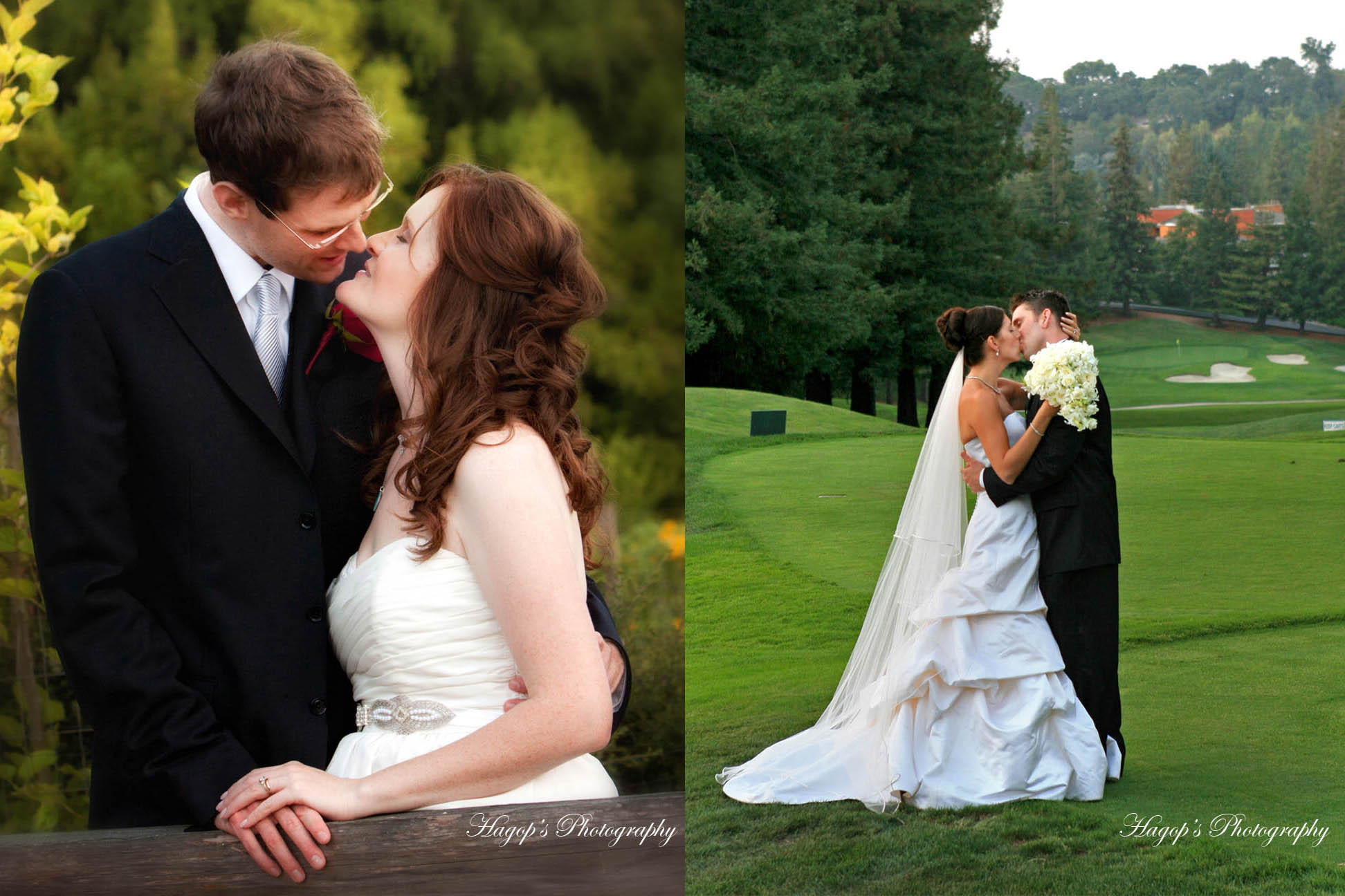 park and country club wedding photography