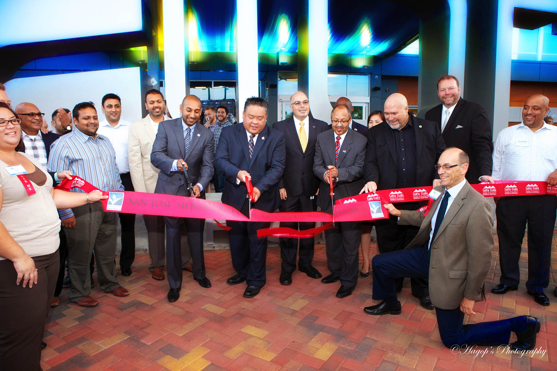 opening ceremony of the aloft hotel