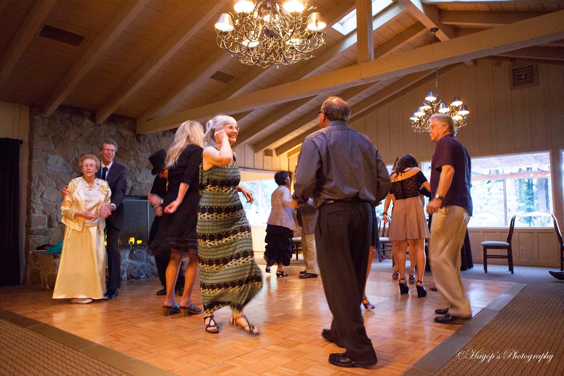 candid dancing photo
