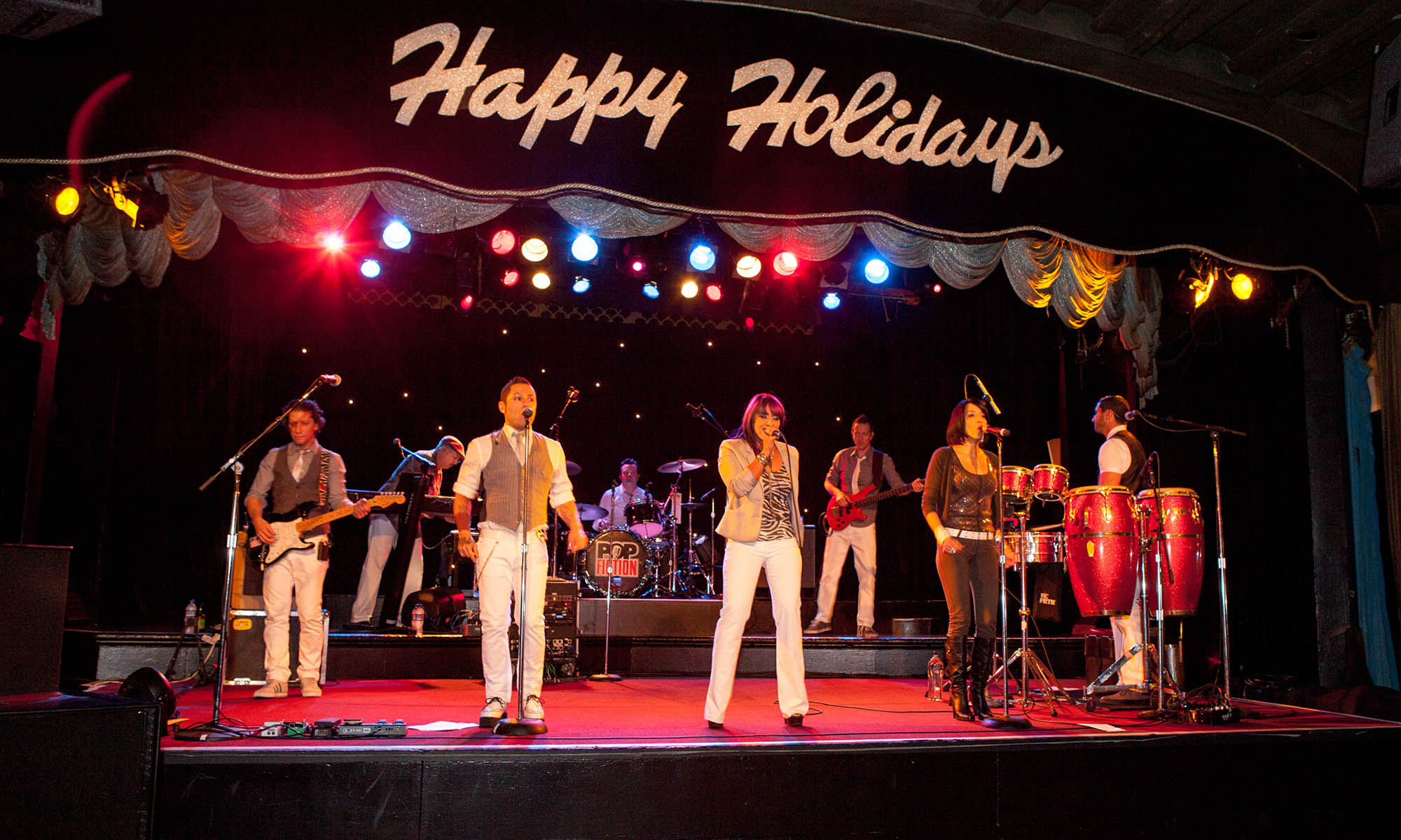 corporate holiday party band