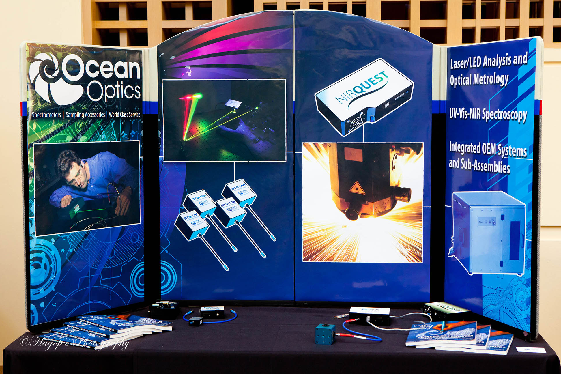 vendors display at the conference