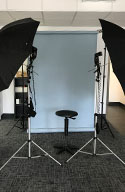 studio set up at your office