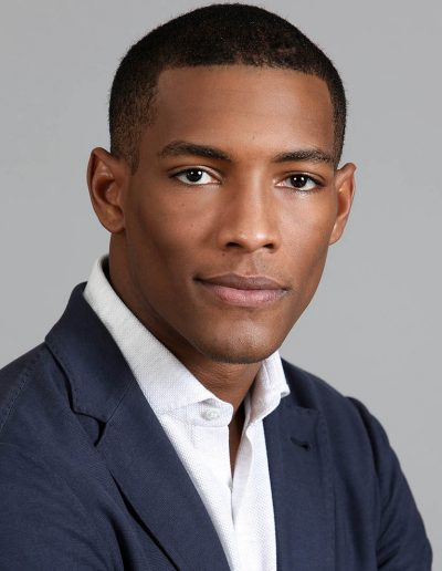young male business portrait with shirt and jacket