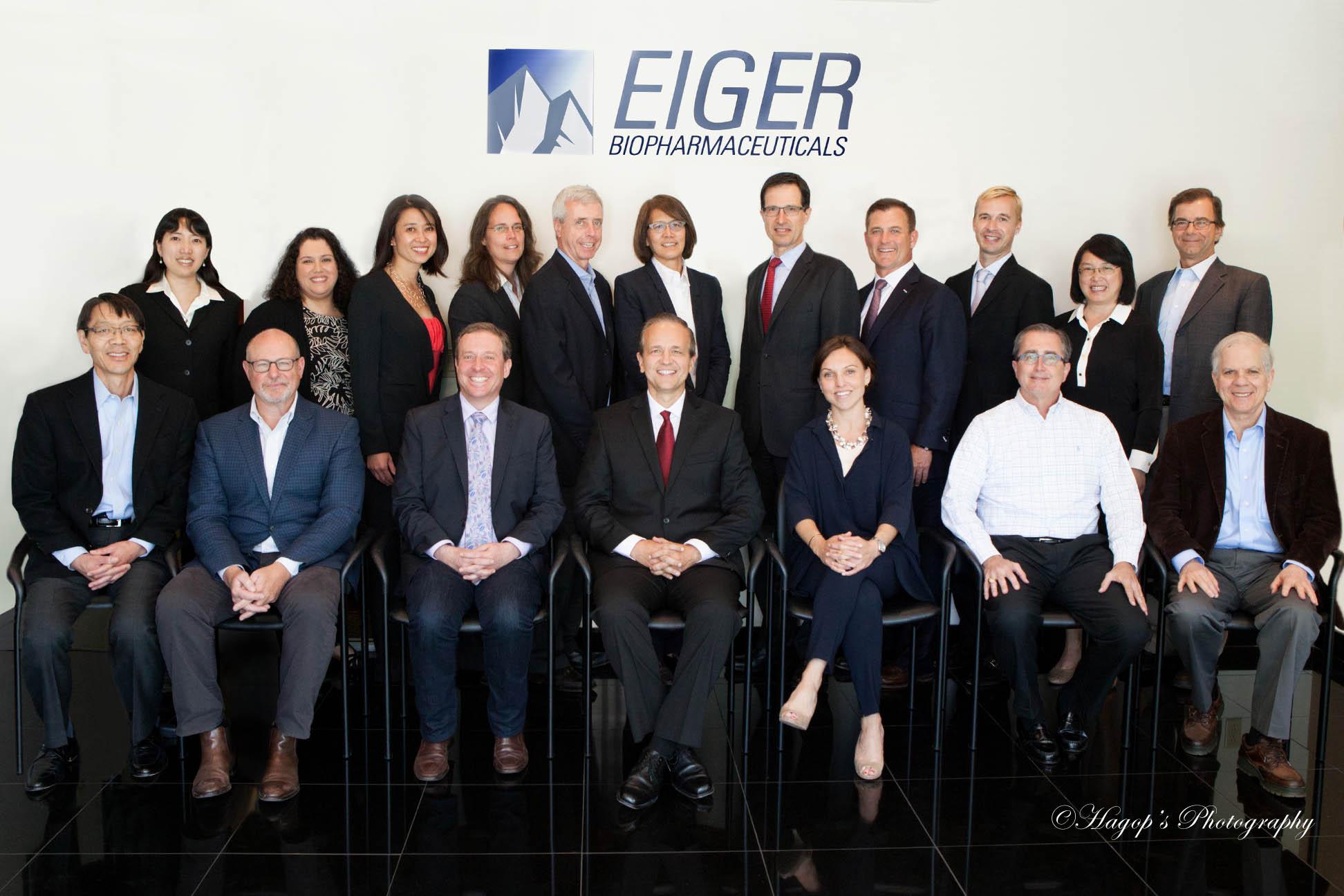 executive team photo at a startup
