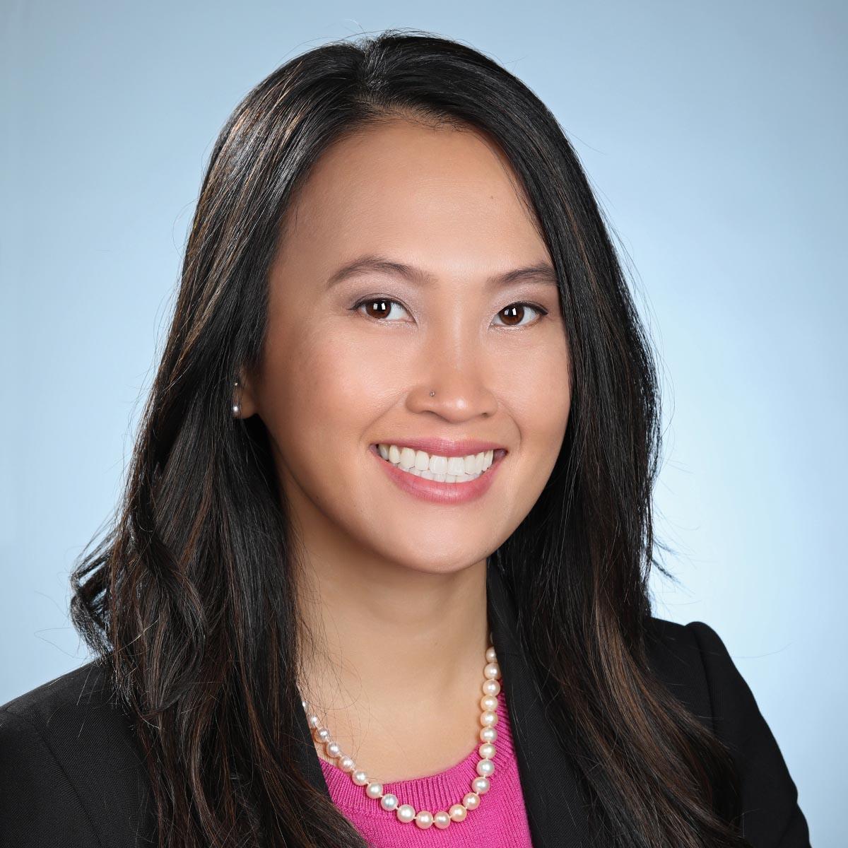 female silicon valley executive headshot