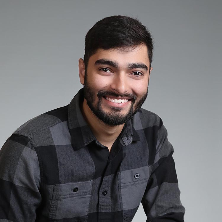 male headshot for a startup